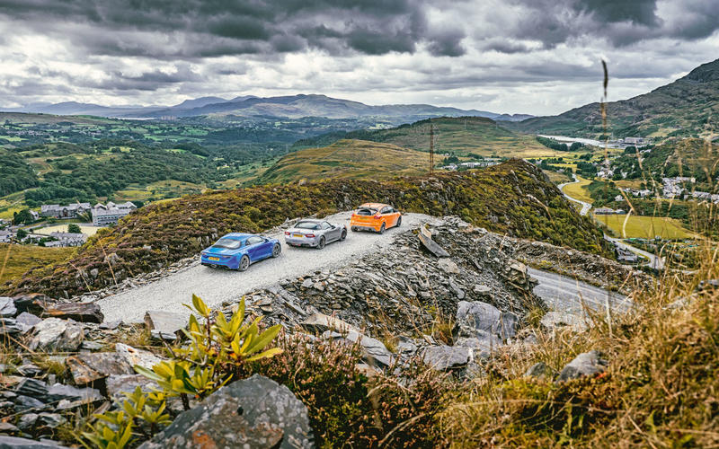 Alpine A110, Abarth 124 Spider, Ford Focus RS