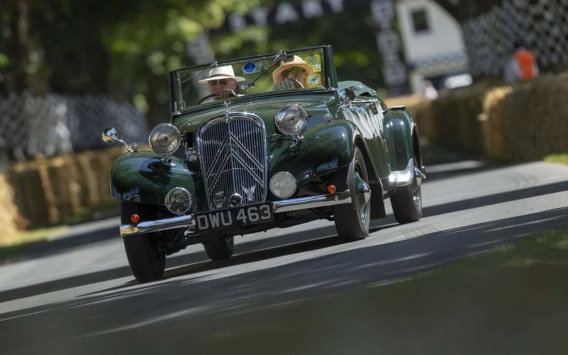 Citroen Traction Avant Cabriolet
