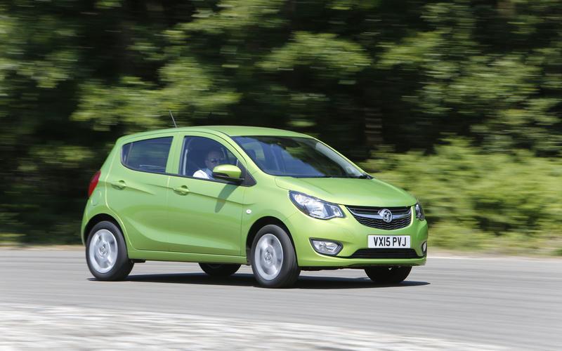 2014 Vauxhall Viva cornering - front