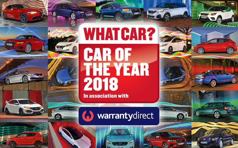What Car? Awards 2018 the best cars on sale