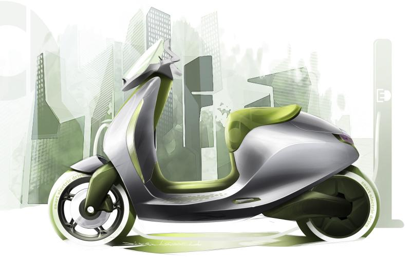 Smart, Mini reveal electric scooters