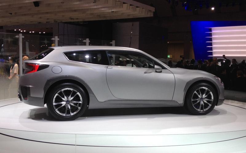 Tokyo motor show 2013: Subaru Cross Sport Design concept