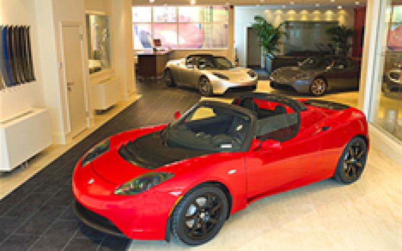 Tesla opens UK showroom