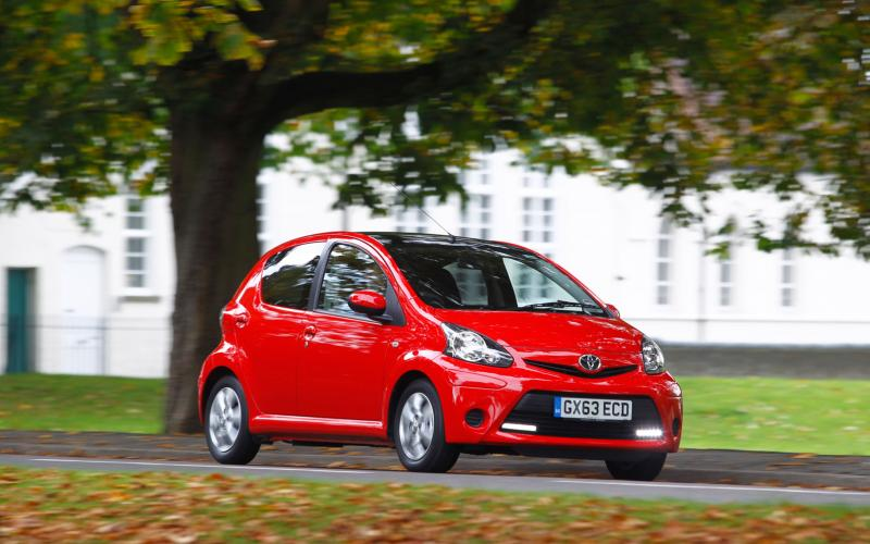 Toyota Aygo 1.0 Move with Style first drive review