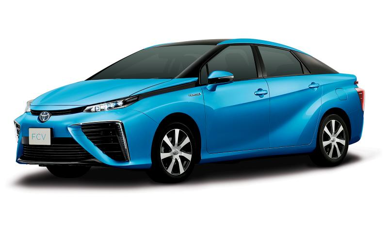 Hydrogen-powered Toyota to arrive next year