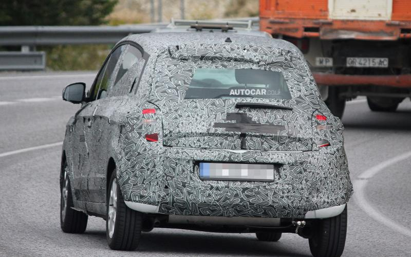 New Renault Twingo spotted