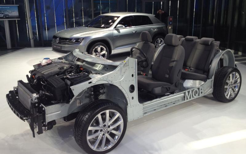 New Golf's underpinnings uncovered