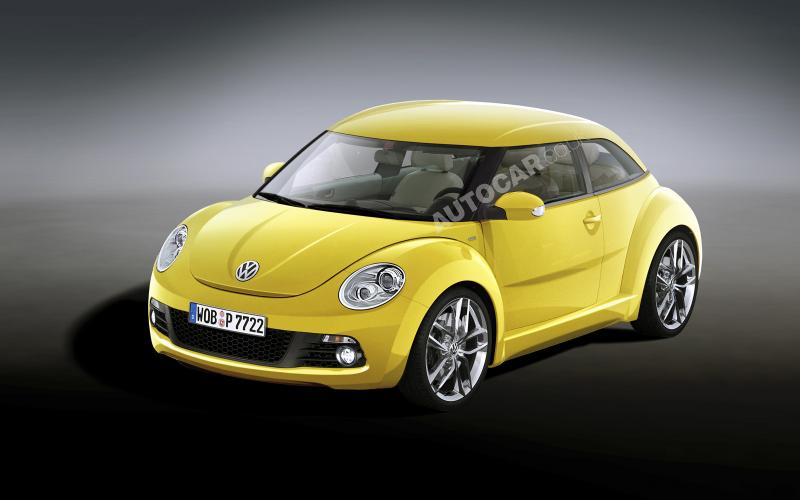New VW Beetle chases Mini