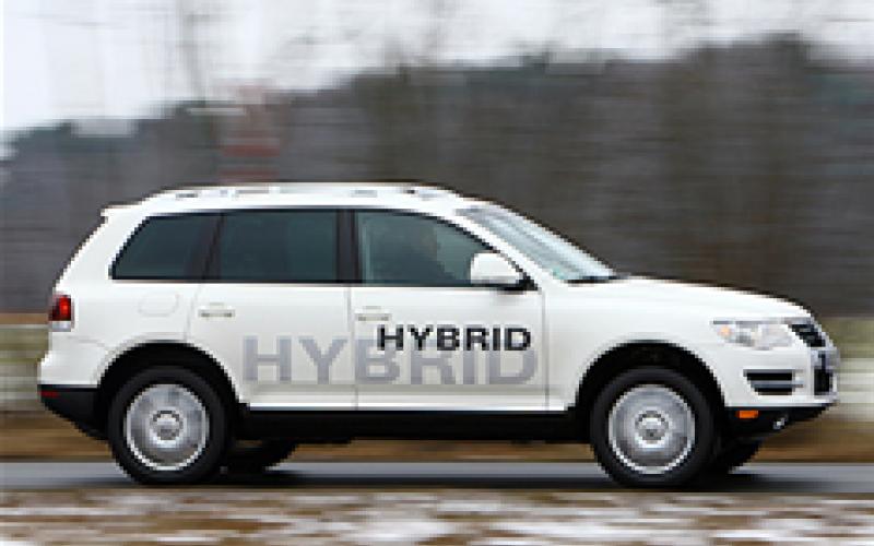 New VW Touareg for Detroit