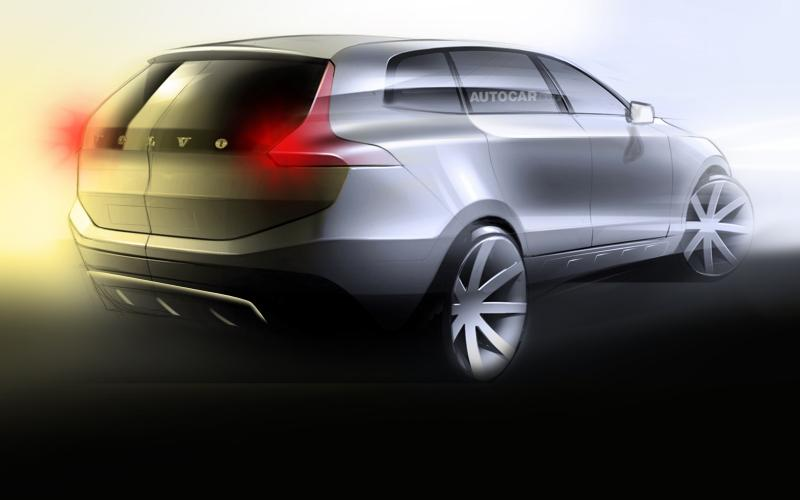 Volvo XC40 thwarted by large platform