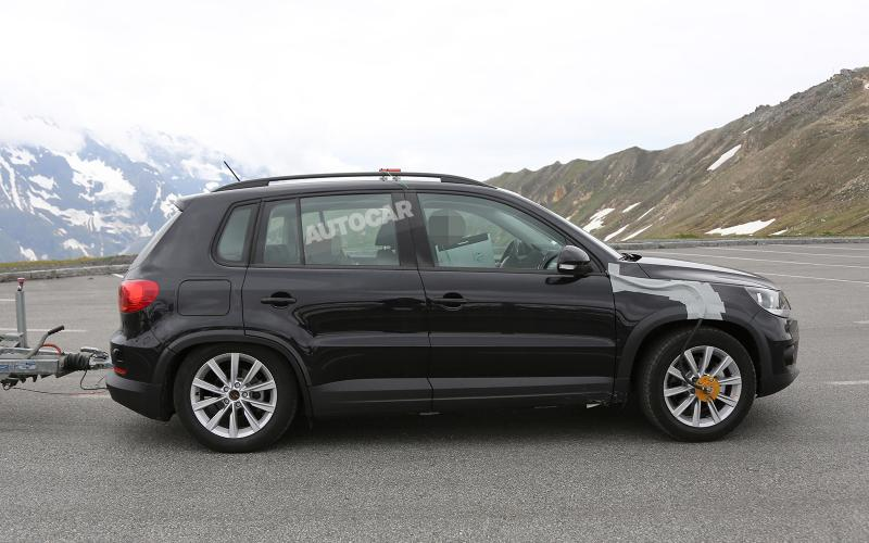 VW plans five and seven-seat versions of new Tiguan