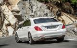 Mercedes-Benz S 500 rear