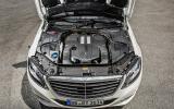 3.0-litre V6 Mercedes-Benz S 500 engine