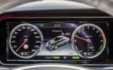 Mercedes-Benz S 500 instrument cluster