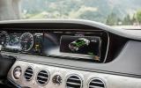 Mercedes-Benz S 500 infotainment