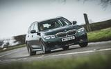 1 alpina d3 touring 2021 uk first drive review hero front