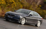 Alpina D5 S on the road front