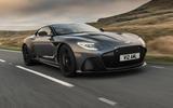 Aston Martin DBS Superleggera 2018 road test review - hero review