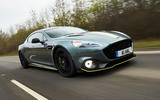Aston Martin Rapide AMR 2019 first drive review - hero front
