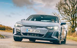 1 audi e tron gt 2021 lhd uk first drive review hero front