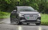 1 Audi Q4 E tron 2021 RT hero front