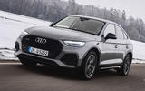 1 audi q5 sportback 2021 first drive review hero front