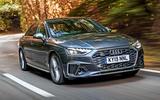 Audi S4 TDI 2019 road test review - hero front