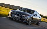 Audi S7 Sportback TDI 2020 road test review - hero front