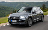 Audi SQ5 TDI 2020 road test review - hero front