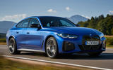 1 BMW i4 M50 2021 first drive review tracking front