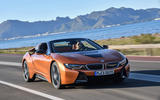 BMW i8 Roadster 2018 review hero front