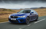 BMW M5 2018 review hero front