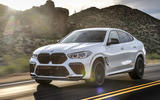 BMW X6 M Competition 2020 road test review - hero front
