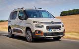 Citroen Berlingo 2018 road test review - hero front