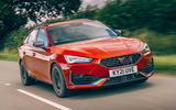1 Cupra Leon Estate 2021 road test review hero front
