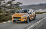 Ford Fiesta Active 2018 road test review hero front