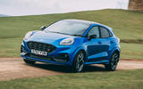 1 Ford Puma ST 2021 road test review hero front
