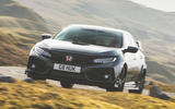 Honda Civic Type R 2019 road test review - hero front