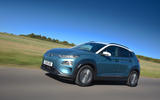 Hyundai Kona Electric 2018 road test review - hero front