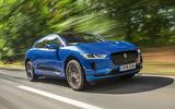 Jaguar I-Pace 2018 road test review hero front
