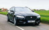Jaguar XF Sportbrake 2019 road test review - hero front
