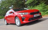 Kia Ceed 2018 road test review front tracking