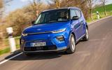 Kia Soul EV 2019 European first drive - hero front