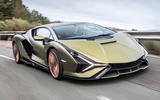 1 lamborghini sian 2021 uk first drive review hero front