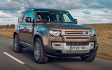 Land Rover Defender 2020 road test review - hero front