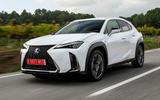 Lexus UX 2019 road test review - hero front