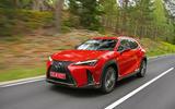 Lexus UX 2018 road test review - hero front