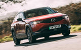 1 Mazda MX 30 2021 road test review hero front