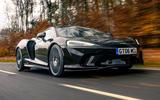 1 McLaren GT 2021 road test review hero front