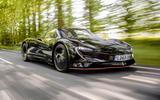 McLaren Speedtail 2020 UK first drive review - hero front